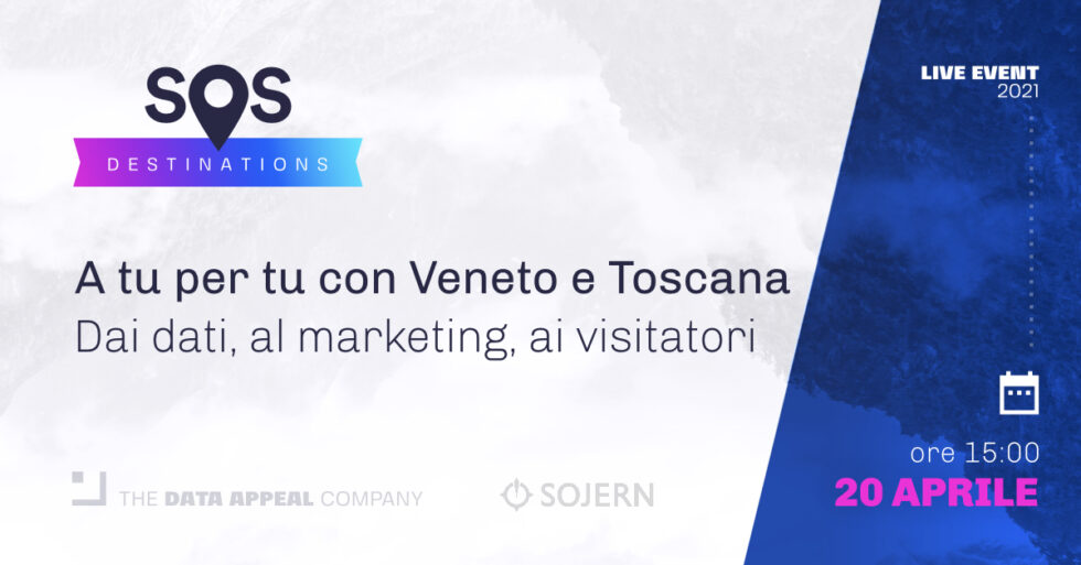 sos destinations - Veneto e Toscana - 20 aprile ore 15